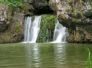 Водопад атыш стреляющий башкирия